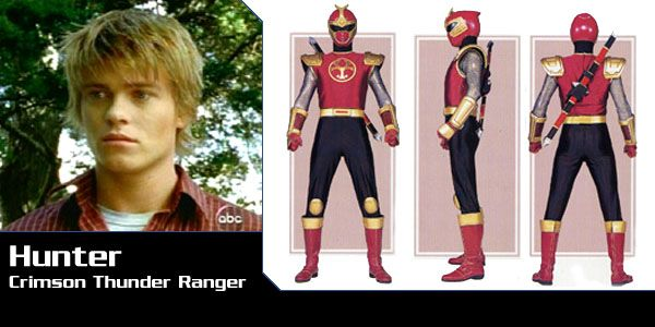Power Rangers Ninja Storm Crimson Thunder Ranger-Hunter