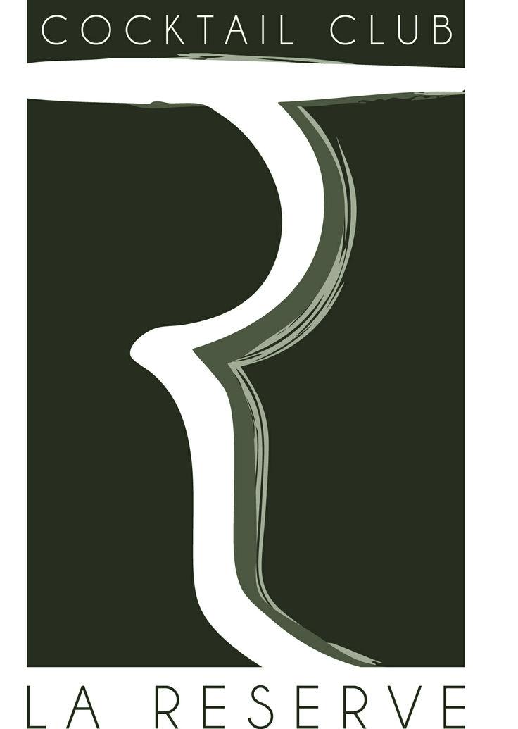 Logo La Reserve cocktail club #creazione logo #imaginaction #grafica