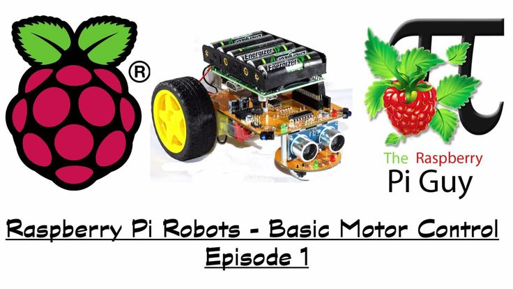 Learn Basic Motor Controls for your Raspberry Pi Robot