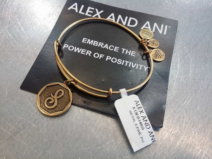 Give your life a little bit of #Zen with a gorgeous #AlexAndAni positivity bracelet – The perfect little accessory to finish off your look! #PlatosClosetBrampton //bracelet, $20// | www.platosclosetbrampton.com
