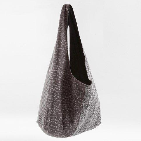 13501 Fodrad väska av ekologiskt bomullstyg
