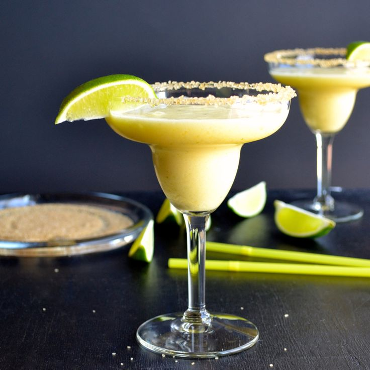 Frozen Pineapple Margarita from Taste Love & Nourish