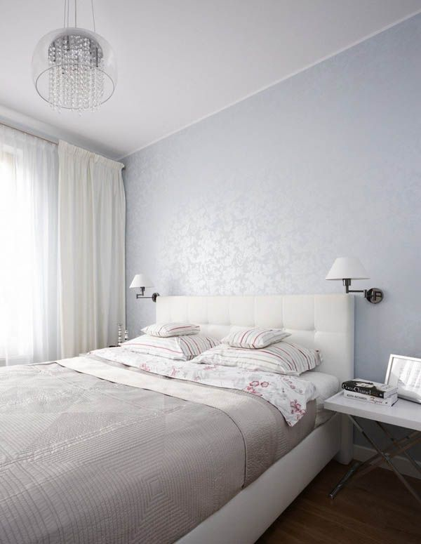 bedroom wallpaper? Warsaw Apartment by Widawscy Studio Architektury  (12)