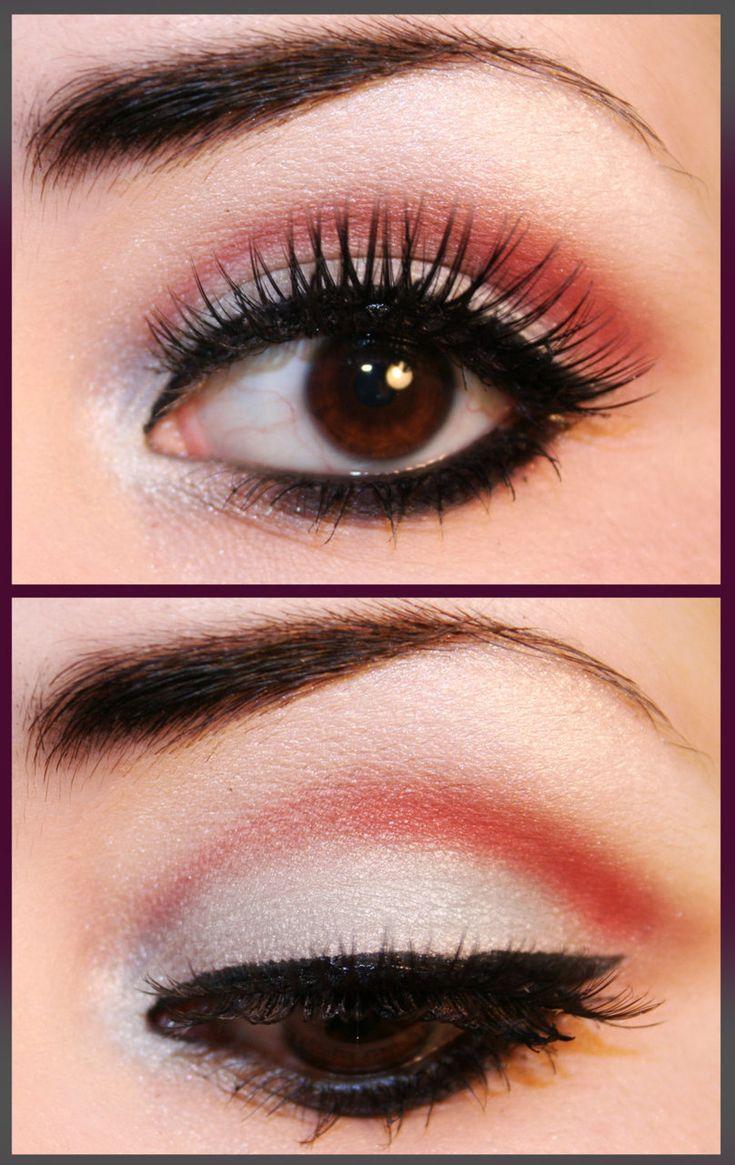 .: Eye Makeup, Brown Eye, Eye Shadows, Makeup Ideas, Gothic Lolita, Eyeshadows, Red Eye, Green Eye, Makeup Products