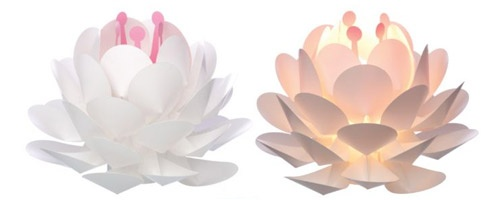 Lotus Flower Light - White - UrbanBaby