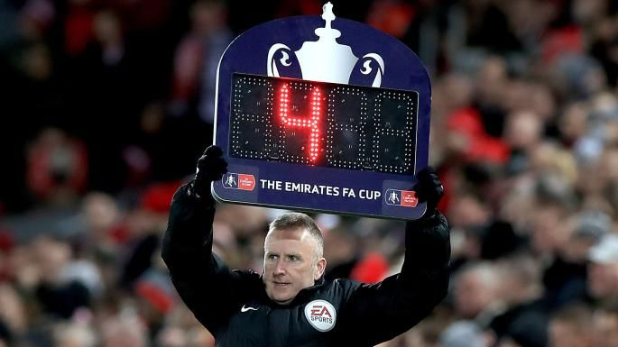 Jürgen Klopp has claimed that the first half stoppage time in Liverpool's FA Cup defeat by West Bromwich Albion on Saturday was cut from ten minutes to four at the behest of television executives.  The Liverpool manager was stunned to discover what he says is the reason why the additional time was curtailed in his side's 3-2 defeat.  The opening 45 minutes of Saturday's fourth round tie at Anfield was prolonged by a series of Video Assistant Referee (VAR) interventions and injuries.