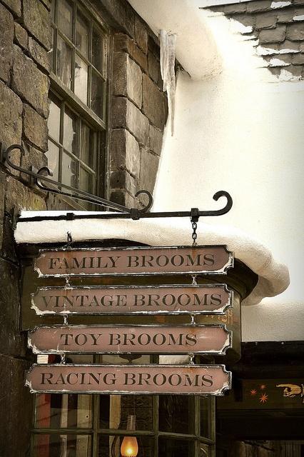 Brooms, Brooms, and Brooms by mich, via Flickr