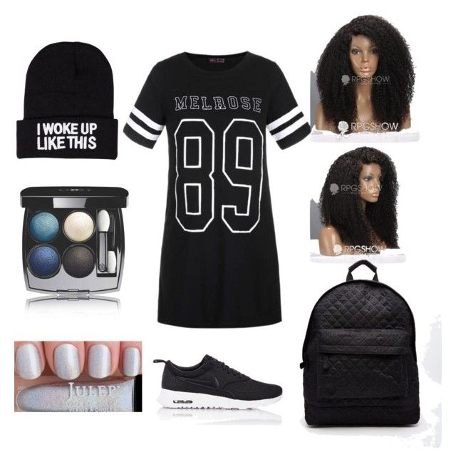 """""""#10"""" by sarah-e11 on Polyvore featuring NLY Accessories, NIKE, Ally Fashion, Chanel and Mi-Pac"""