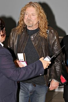 Rock Legend Robert Plant arriving at Toronto's Pearson International…