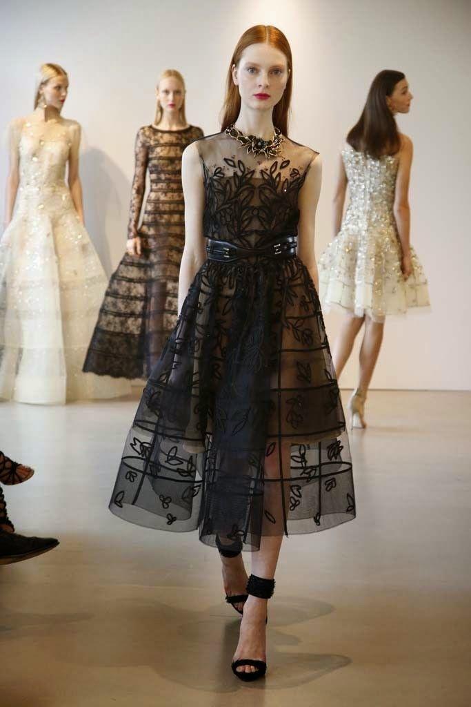 Soğuk Chic Style Moda: Moda Koleksiyonu | Oscar De La Renta: Resort Koleksiyonu 2015