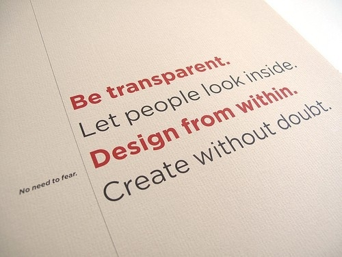 A design philosophy by suzette