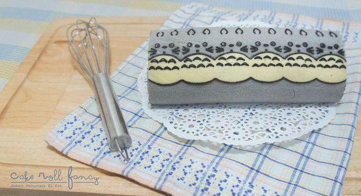TOTORO Deco Roll Cake