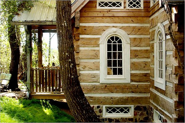 25 best ideas about log cabin exterior on pinterest log for Log cabin builders in alabama