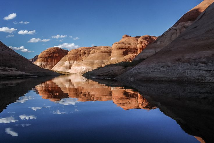 Gliding From Shadow To Sunlight | by helenehoffman (Lake Powell, Arizona)