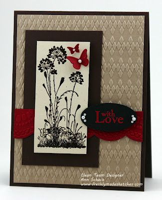 The Stampin' Schach: Serene Silhouettes for Freshly Made Sketches