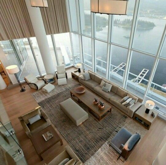 Fairmont penthouse in vancouver canada via our friends designed by robert bailey interiors josh dunford