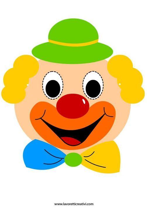 Картинка лицо клоуна