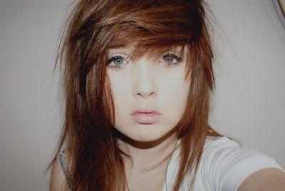 brown scene hair