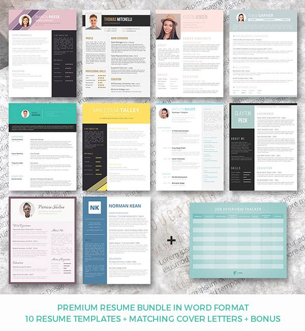 71 best Resume Templates images on Pinterest Resume templates - free cover page templates for word