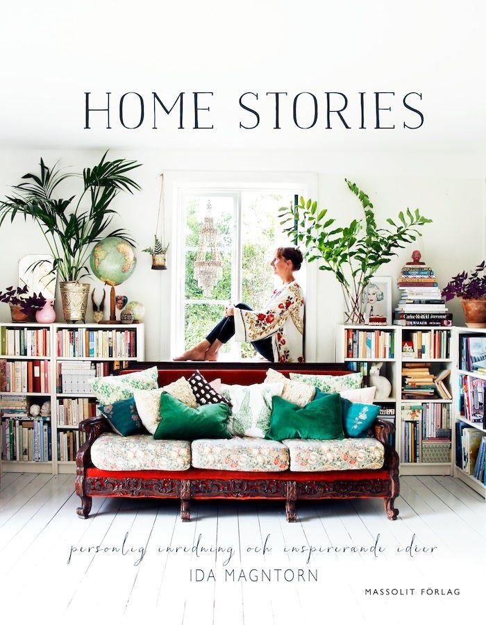 Nu är den här! Jag håller i mitt första ex av boken Home stories - personlig inredning och inspirerande idéer som jag arbetat med hela förra året. Känns underbart roligt och spännande att...