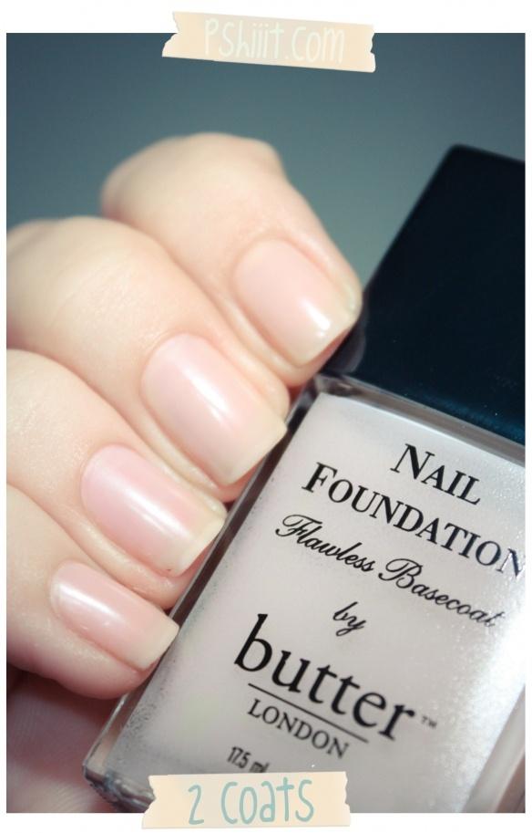 Butter London - Nail Foundation Base Coat 2COATS