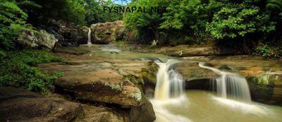 Air Terjun Luweng Sampang Gunung Kidul