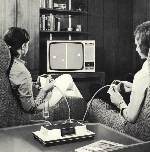 Magnavox Odyssey Video Game Unit, 1972