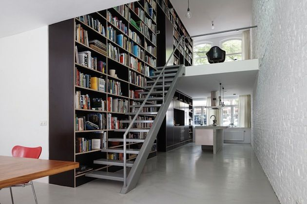 VERTICAL LOFT FULL OF STORAGE IN THE NETHERLANDS