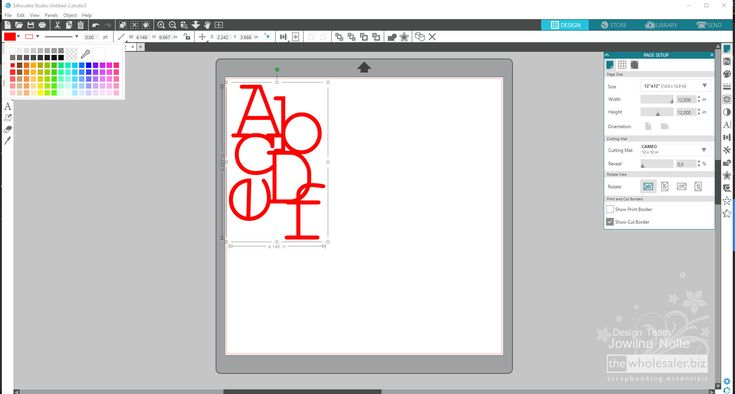 Here's how I created my cut file This alphabet stack is perfect for back to school layouts too.