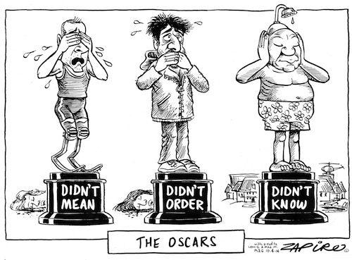 Best acting Pistorius, Dewani or Zuma?