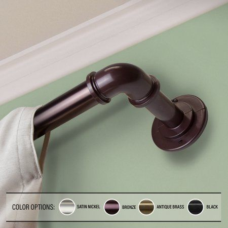 Home Curtain Rods Curtains Blackout Curtains