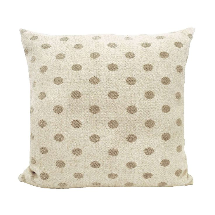Pretty Vintage Spotted Cushion