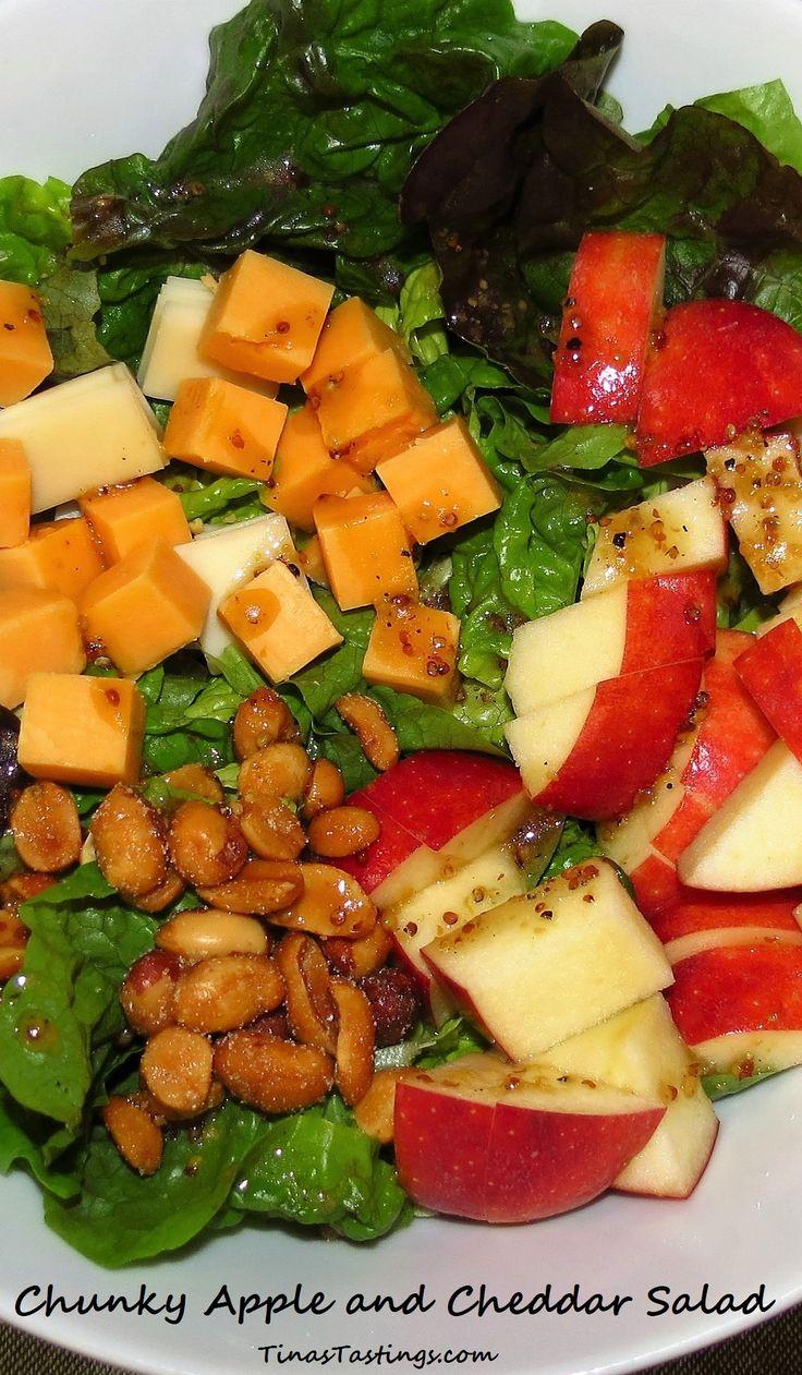 Chunky Apple and Cheddar Salad