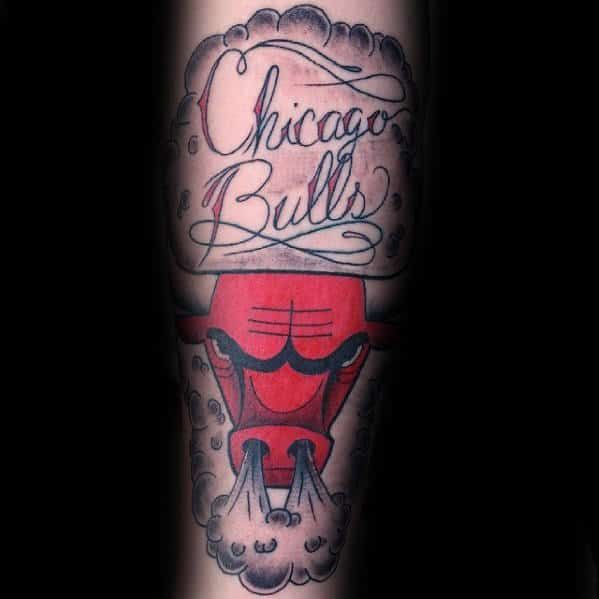 50 Chicago Bulls Tattoo Designs For Men Basketball Ink Ideas Bull Tattoos Chicago Bulls Tattoo Forearm Tattoo Inspiration