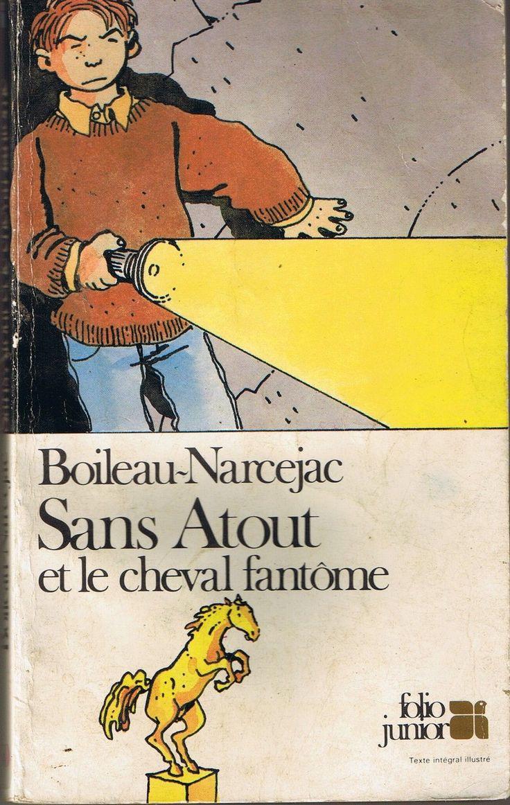 Boileau Narcejac, Sans-atouts et le cheval fantôme Folio Junior