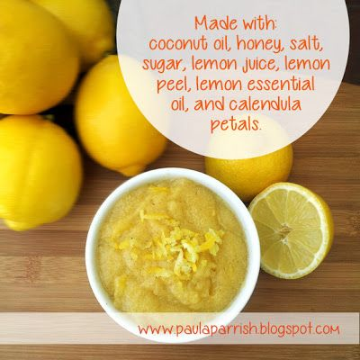 Lemonade Body Scrub The ideal treatment to keep your skin in awesome condition for the beach and pool.