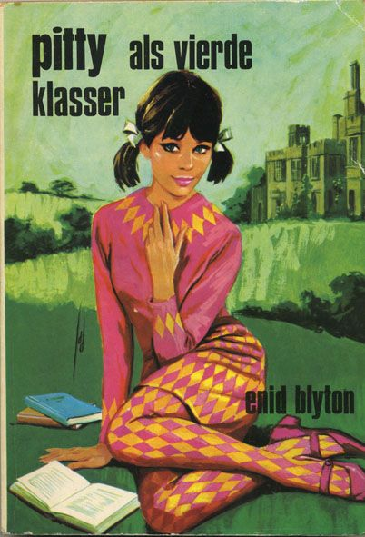 Pitty als vierde klasser - Upper fourth at Malory Towers -  Enid Blyton - paperback cover