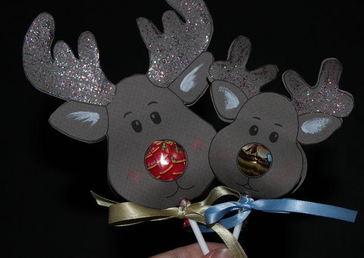 reindeer chupa chups template - Google Search
