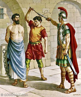 Acts 22: Paul: a Prisoner