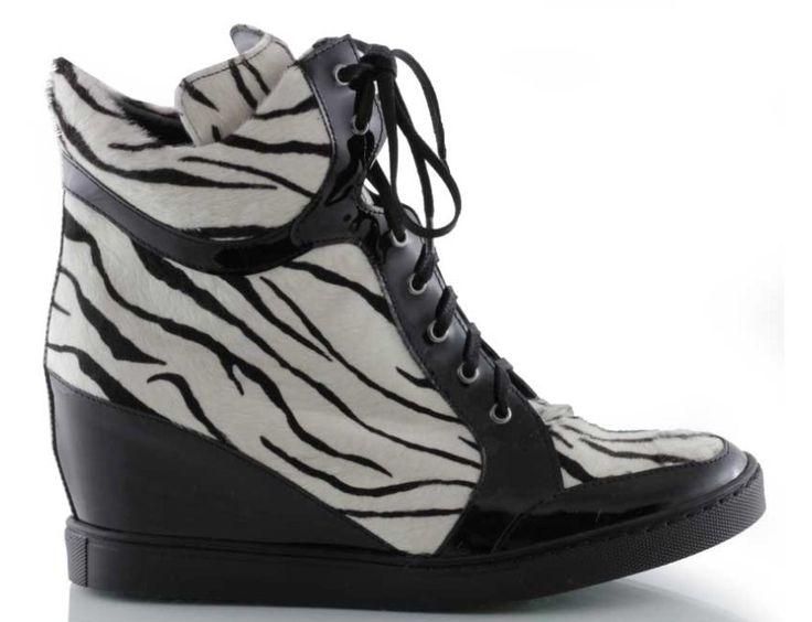 sneakersy baldowski d01059/snik/005 lak czarny zebra