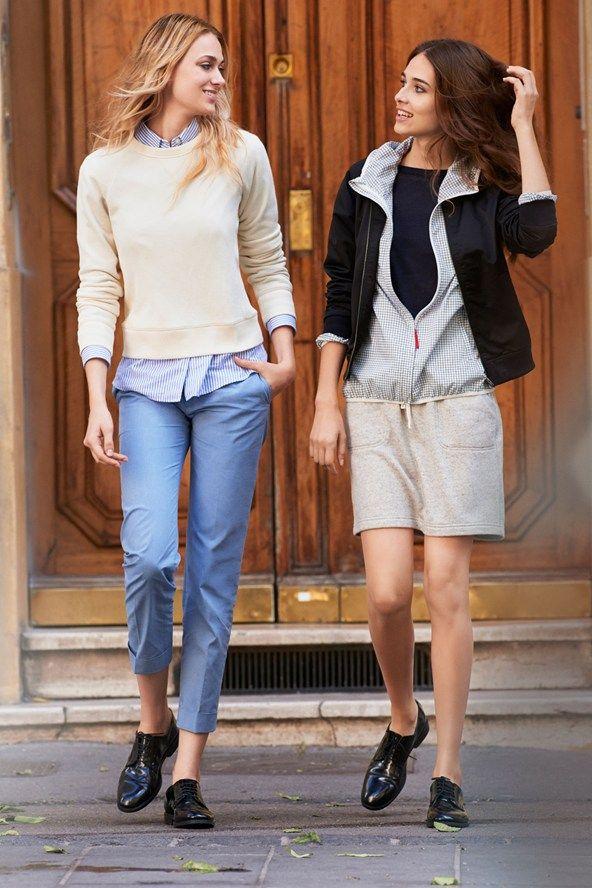 Ines de La Fressange Uniqlo fashion collection interview (Vogue.com UK)