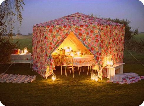 81 Best Images About Backyard Tent On Pinterest Gardens