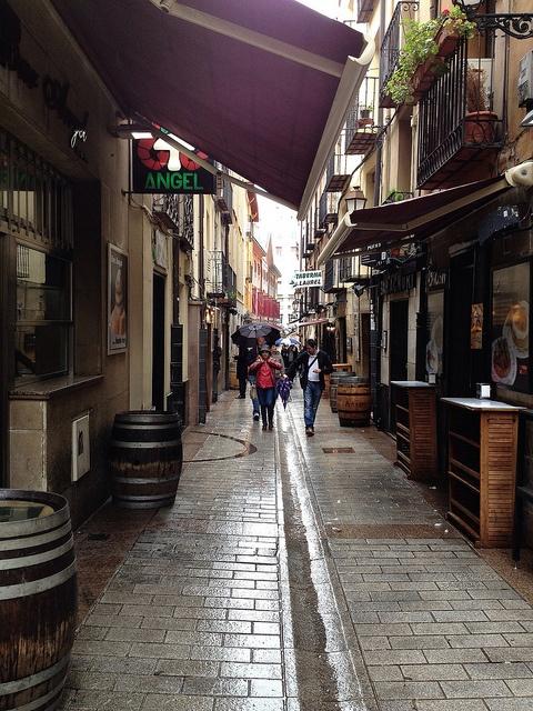 Calle Laurel. Logroño,  de Tapas......!!! las mejores tapas del mundo !!!!!!!