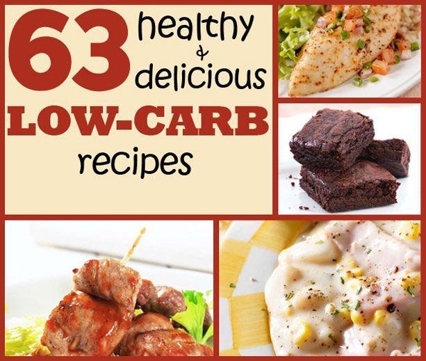 Low-carb recipe book.