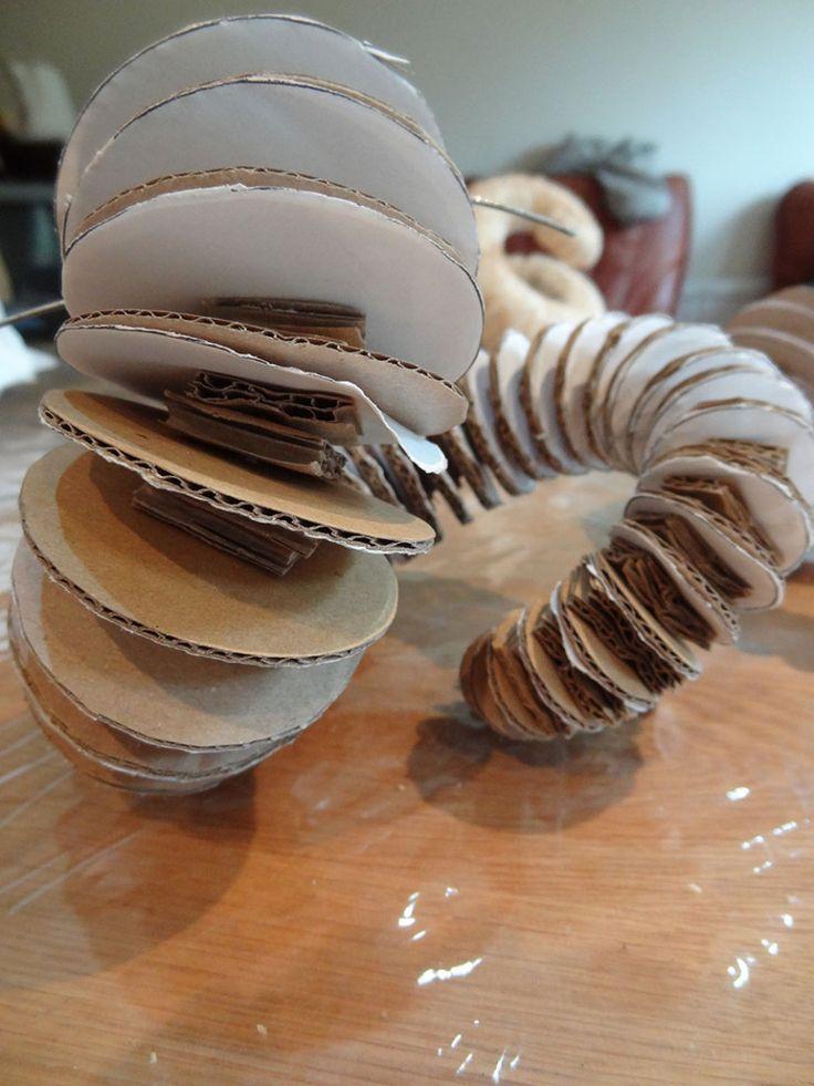Ram's horns – construction | Entanglement – >>> bluette <<<
