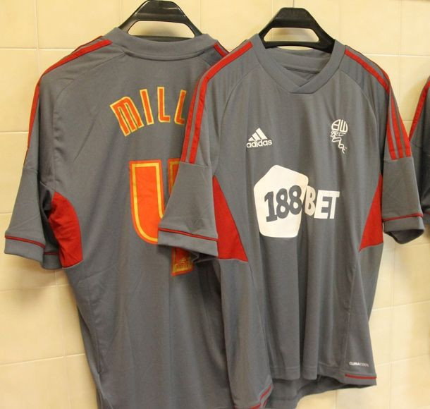 This is the new Bolton third kit 2012/2013, Bolton Wanderers' new third shirt for the 12/13 season. Bolton's new third strip 2012/13 has been made by Adidas and was officially unveiled …