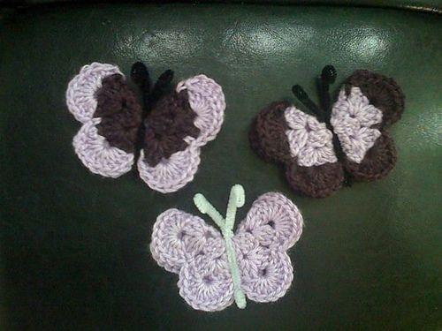 46 best Free Crochet Butterfly Patterns images on Pinterest ...