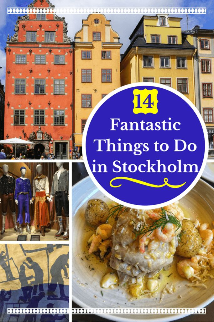 Planning a trip to Stockholm, Sweden? This city guide has 14 fantastic things to do in Stockholm, as well as Stockholm travel and transportation tips. | #stockholm #Europe #travel #Sweden