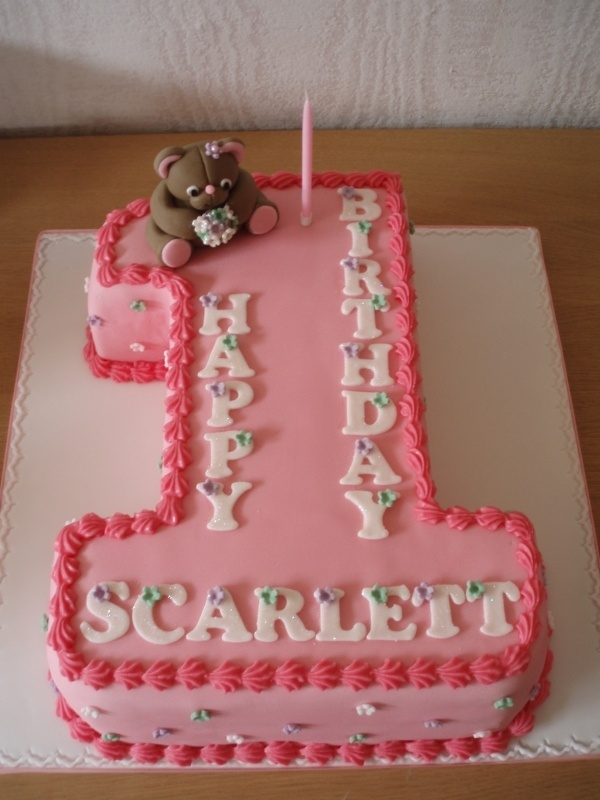 Cake Design Numbers : 1000+ ideas about 1 Birthday Cakes on Pinterest Baby ...