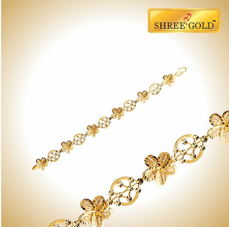 9 best Shree Gold - Bracelet images on Pinterest | Bracelet ...